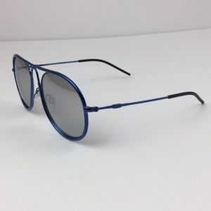 Emporio Armani Blue Men Sunglasses